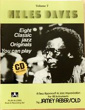 """Miles Davis"" Volume 7 Abersold Play-A-Long Book and Cd!"