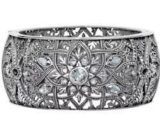 Brighton Mamounia Open Hinged Bangle Bracelet Retail $198 New