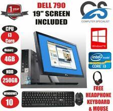 PC de bureau avec intel pentium dual core avec windows 10