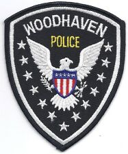 **WOODHAVEN MICHIGAN POLICE PATCH**