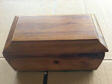 WOODEN SQUARE BOX WITH LID