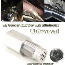 180 Degree CEL Check Engine Light Catalytic Mesh Oxygen O2 Sensor Spacer Adapter