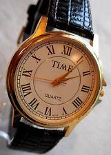 ANCIENNE TIME MIXTE,ELEGANT MODEL,BRACELET CUIR FINISSION LEZARD,ANNEES1970