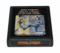 Maze Craze: A Game of Cops and Robbers (Atari 2600) Contacts Cleaned & Works