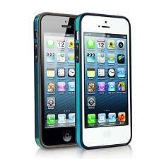 Blue daruma S-Clear PC Bumper iPhone 5 / 5S / 5SE Black Trim - No Packaging