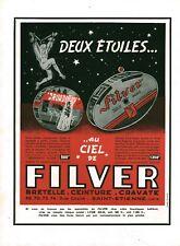 Publicité ancienne bretelle Filver 1950 issue de magazine