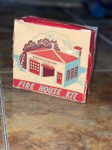 Plasticville Vintage Fire House Kit 🔥