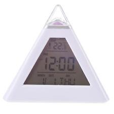 Piramide Sveglia digitale con luce di notte cambia il colore S0O1