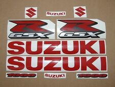 GSX-R 1000 medium red full decal sticker graphics kit set logo blood red gixxer