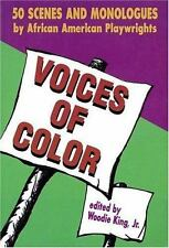 Voices of Color 50 Scenes & Monologues Paperback Applause Acting Series