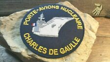 Patch .. Porte Avions Charles de Gaulle - 90 mm