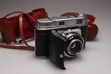 KODAK RETINA IIc/II c VINTAGE FOLDING RANGE FINDER CAMERA W/XENON 50mm&CASE L@@K