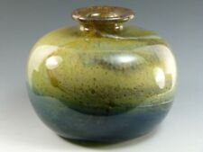 Vase Gold Isle of Wight Studio Art Glass