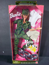 NIB BARBIE DOLL 1999 BOOT CAMP ARMY MARINES AAFES EDITION