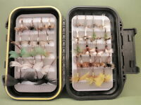 MayFlies for Fly Fishing, 36 Boxed May Flys, Drakes, Wulff, Spent Mayfly, BOX19