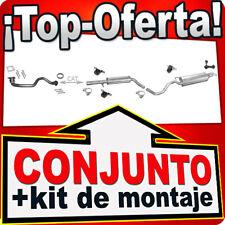 SEAT TOLEDO II 1.4 16V 75HP 01.2000-05.2002 +Tubo Silenciador Escape W67A