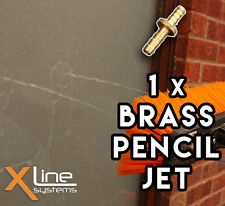 1 x Brass Pencil Jet = 2mm - High Quality for Water Fed Pole Brushes