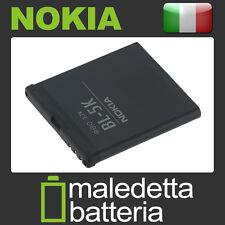 BL-5K Batteria ORIGINALE per Nokia C7 N85 X7 (WM0)