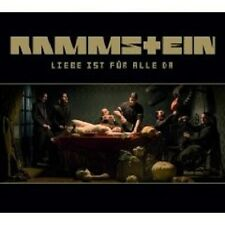 RAMMSTEIN - LIEBE IST FÜR ALLE DA CD 11 TRACKS POP/ROCK/NEW+E DEUTSCHE HÄRTE NEW