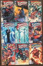 Superman Unchained #1,2,3,4,5,6,7,8,9 2013 DC comics The New 52 Snyder & Lee set