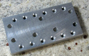 Telecaster Vintage/Modern Bridge String Hole Drilling Guide USA Luthier Made