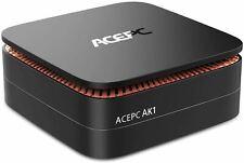 AK1 Mini PC Windows 10 Pro, ACEPC 4K Mini Computer Intel Celeron J3455 Processor