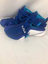 Nike Lebron James Soldier IX 9 Basketball Shoes US Size 9 Blue White 749498-401
