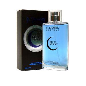 Profumo Uomo El Charro BLUE MOON Eau de Parfum 100ml Made in Italy