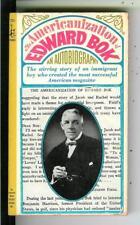 AMERICANIZATION OF EDWARD BOK, Pocket #75043 autobio publisher pulp vintage pb