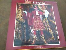 """DISQUE 33 T KLAUS NOMI -""""Encore...""""- 1983 RCA"""