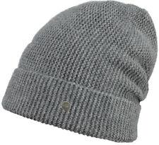 Barts Mütze JULIA Beanie dark heather Mützen grau Kaschmir  Beanie Winter Mütze