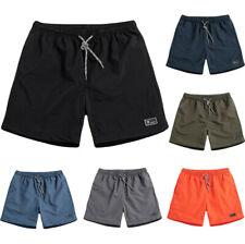 Pantalones cortos para hombres Verano Playa Casual Gimnasio de Deportes Entrenamiento Atlético Traje De Baño Pantalones Cortos