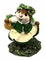 "Wee Forest Folk 1990 Annette Peterson ""COLLEEN O'GREEN"" M-167 RETIRED WITH BOX"