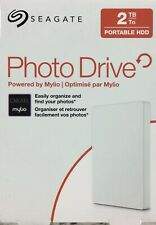 Seagate Portable HDD Backup Or Photo Drive 2TB White Powered by Mylio(SEALED)‼️✅