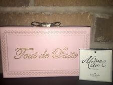 NEW! NWT KATE SPADE Madison Ave Collection Evening Belles Toute De Suite Clutch