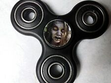 Walking Dead Zombie print Black Fidget Spinner IN STOCK GREAT GIFT Free Shipping