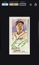 New ListingTopps Bunt Austin Riley Super Rare Allen & Ginter 20 Mini Signature {Digital}