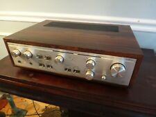 Luxman L-450 Integrated Amplifier Duo Beta Circuit Rosewood Case Tested Working
