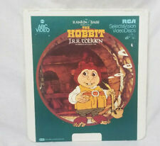 SelectaVision CED Video Disk The Hobbit by JRR Tolkien