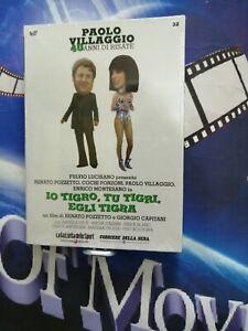 - IO TIGRO, TU TIGRI, EGLI TIGRA -DVD  n°32 Nuovo!