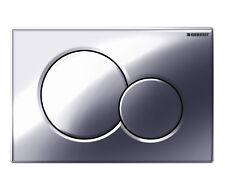 Geberit Sigma 01 Toilet Dual Flush Plate 115.770.21.5 in Gloss Chrome