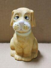 Jasco Crazy Eye Basset Hound Ceramic Bell, 4.25�, late 70s-early 80s