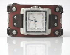 Fossil Watch-Bar - WB1071 braunem Nietenband - NEU und ungetragen