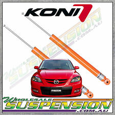 MAZDA 3 MPS Turbo KONI STR.T Rear Shocks 2009 onwards Sport Shock Absorbers BL