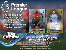 Topps Chrome Premier League 2018-19 Superstar Sensations New Signings Inserts