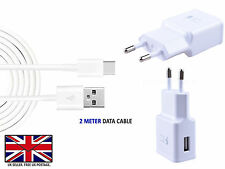 For SAMSUNG GALAXY A8+  Wall Adaptive Fast EU 2 Pin Charger Head Plug and Cable