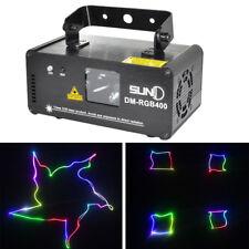 SUNY DM-RGB400 Laser Beleuchtung Laserlicht DMX512 14W Bar Club Lampe Schwarz
