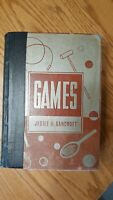 Games by Jessie H. Bancroft 1937 Book Vintage Games for Home, School, Gymnasium
