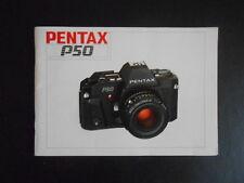 Pentax P50,original Gebrauchtsanleitung