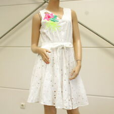Derhy vestido con amor pleno joyas detalles feminil fibras sintéticas impresiones talla L